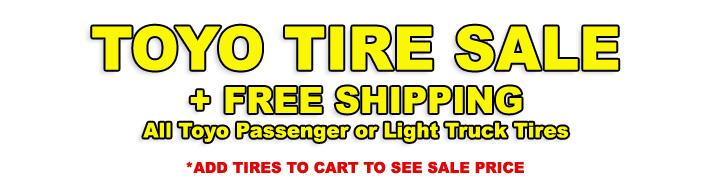 Toyo Tire Sale