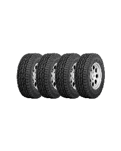 Set of 4 Toyo Open Country A/T II 285/60R18 120S XL BLK