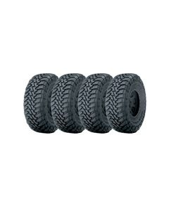 Set of 4 Toyo Open Country M/T 37X13.50R22LT 123Q E10