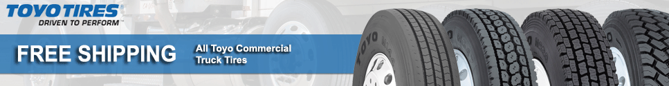 Free Shipping on all Toyo Commercial Tires